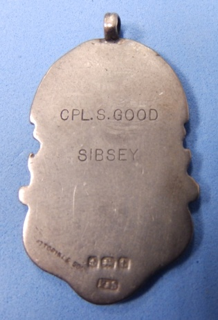 Gift from Sibsey 1918 - Cpl S. Good