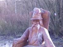 Wooden Wizard at Carsington