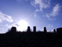 Stones at Carsington Water