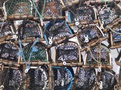 Crab Pots at Whitby