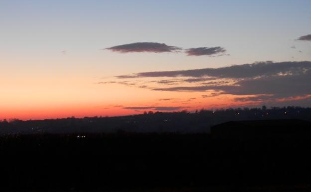 Sunset December 2019