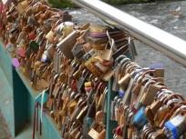 Love Locks at Bakewell