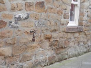 A small padlock