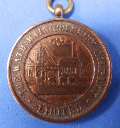 Wath Main Colliery Tribute Medal