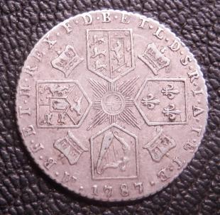 1787 Sixpence