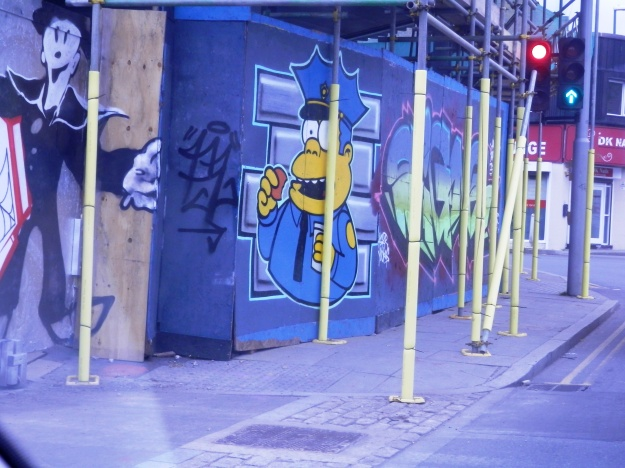Street Art Sneinton Nottingham