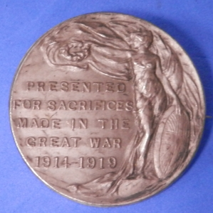 Badge for Sacrifices made in the Great War